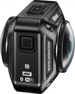 Nikon: Actionkamera mit 360-Grad-Aufnahme