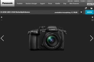 Die Panasonic Lumix DC-GH5: Eine DSLM erster Güte