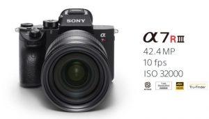 Hohe Auflösung, schnelle Serienbilder: die Sony a7R III