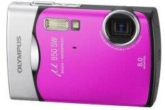 Olympus Digitalkamera  mju 850 pink (Foto: Olympus)