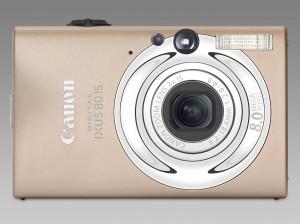 Canon Digitalkamera Ixus 80 is