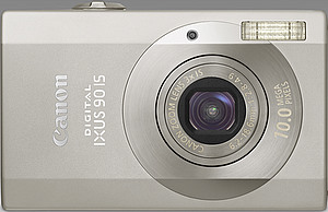 Canon Ixus 90 IS Digitalkamera in silber