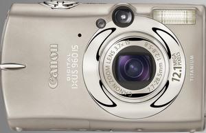 Die 12,1 Megapixel Canon Digitalkamera Ixus 960 IS