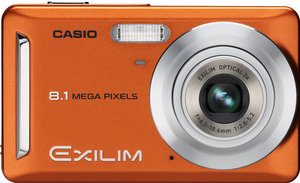 In Orange: Die Casio Digitalkamera Exilim Z9