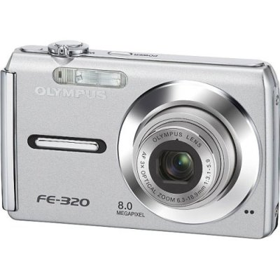 Leicht und elegant: Die Olympus Digitalkamera FE 320