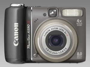 Die Digitalkamera Canon Powershot A 590 IS mit 8 Megapixel