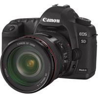 Canon EOS 5D Mark II: Brandneu ab November im Handel. Foto: Canon.