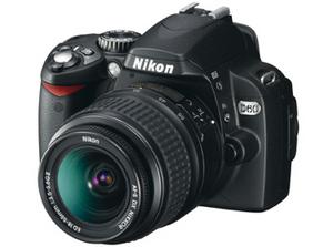 Nikon Digitalkamera D 60 Spiegelreflex