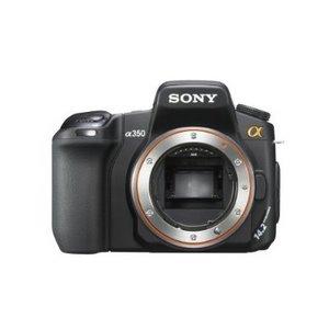 Sony Digitalkamera A 350 Spiegelreflex