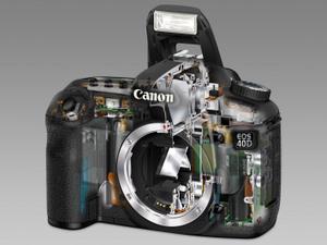 Canon Spiegelreflex Digitalkamera EOS 40 D