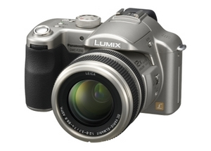 Perfekt kompakt: Panasonic Digitalkamera Lumix DMC FZ 50