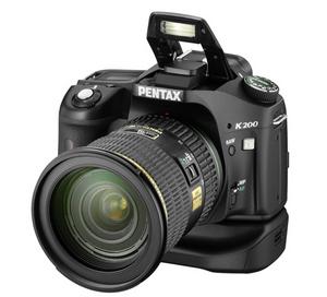 Pentax Spiegelreflex Digitalkamera K 200 D