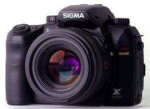 Sigma Spiegelreflex Digitalkamera SD 14