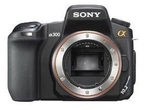 Genial digital: Sony Spiegelreflex Digitalkamera A 300 D-SLR