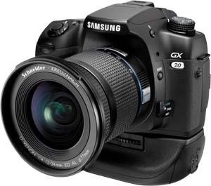 Samsung Spiegelreflex Digitalkamera GX 20