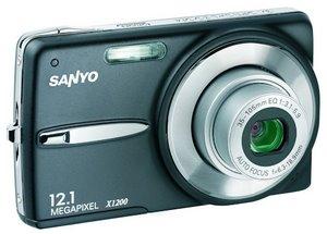 Voll schlank: Sanyo VPC-X1200 Digitalkamera