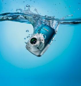 Einsatz unter Wasser: Canon Powershot D10