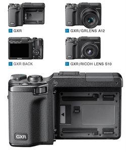 Baukasten-Prinzip: Ricoh GXR Digitalkamera