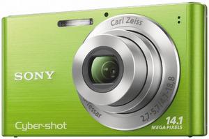 Sony Cybershot DSC-W320 G Digitalkamera (Foto: Sony)