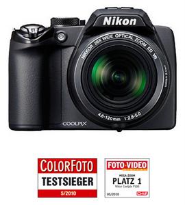 Nikon Coolpix P100 (Foto: Nikon)