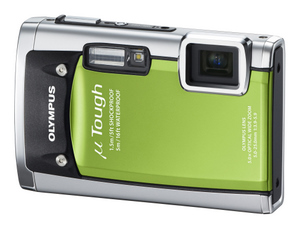 Robuster Kumpan: Olympus mju tough 6020 wasserdichte Digitalkamera