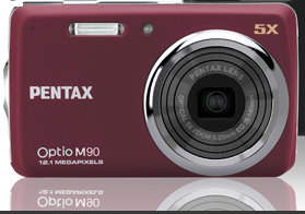 Pentax Optio M90 Digitalkamera (Foto: Pentax)