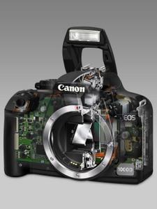 Klassiker: Canon EOS 1000D D-SLR Digitalkamera