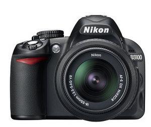 Nikon D3100 D-SLR Spiegelreflex Digitalkamera (Foto: Nikon)