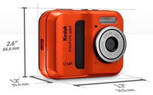 Kodak EasyShare Sport C123 Digitalkamera foto kodak