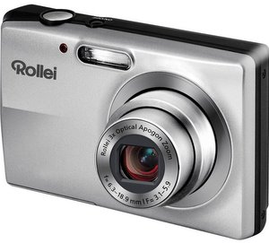 Billig und schlank: Rollei Compactline 412 Digitalkamera