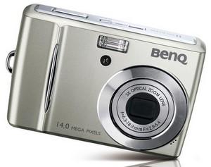 Volle Ausstattung: BenQ DC C1430 Digitalkamera