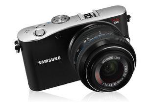 Samsung NX100 System Digitalkamera foto samsung