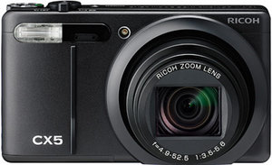 Hochwertig: Ricoh CX 5 Digitalkamera