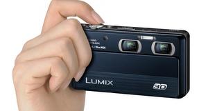 Das Doppel-Prinzip: Panasonic Lumix DMC-3D1 Digitalkamera