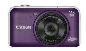 Canon PowerShot SX220 HS Digitalkamera foto canon