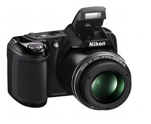Schick für Einsteiger: Nikon Coolpix L810 Digitalkamera