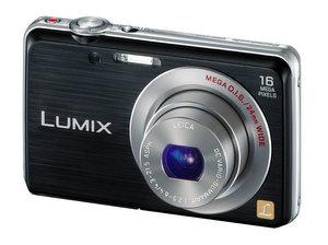 Neuer Flachmann: Panasonic Lumix DMC-FS45 Digitalkamera