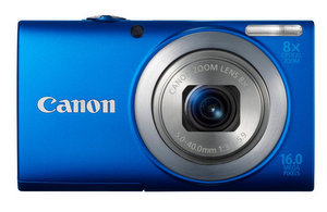 Zoom plus, Ausstattung minus: Canon Powershot A4000 Digitalkamera