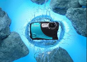 Hecht im Karpfenteich: Canon Powershot D20 Outdoor Digitalkamera