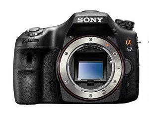 Clever gemacht: Sony Alpha 57 D-SLR Digitalkamera