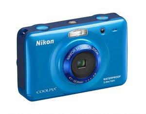Strand oder Tauchen? Nikon S30 Digitalkamera