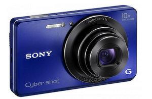 Schickes Teil für Einsteiger: Sony Cybershot DSC-W690L Digitalkamera