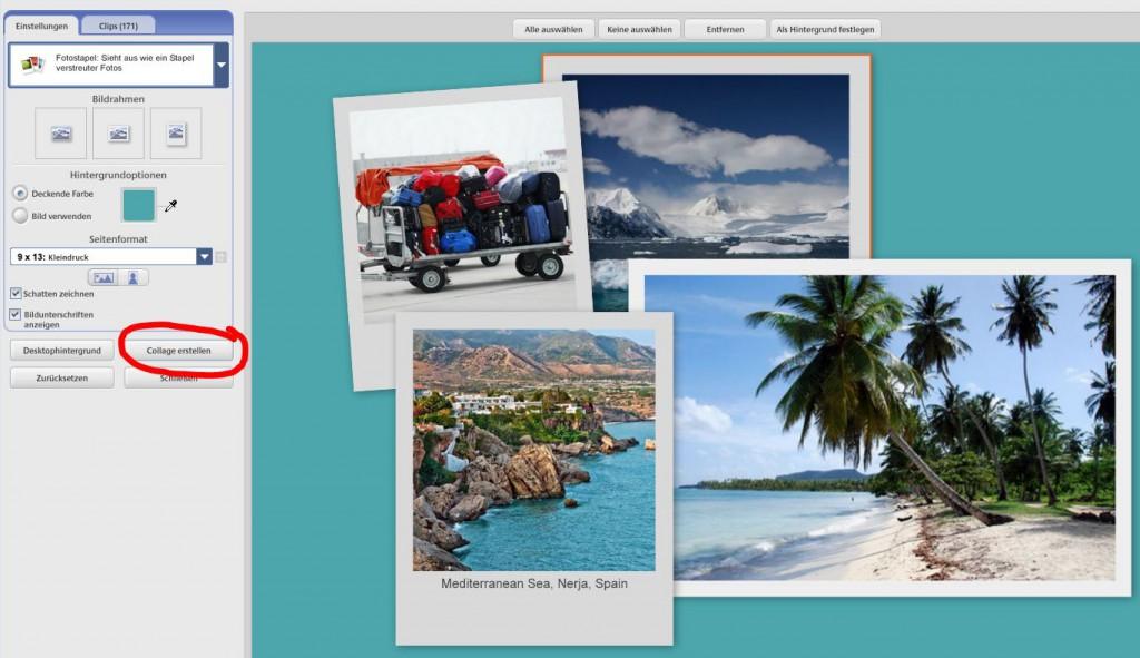 So erstellen Sie eine Collage mit Picasa 3