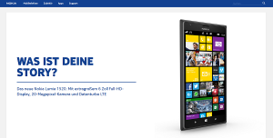 Nokia-Homepage