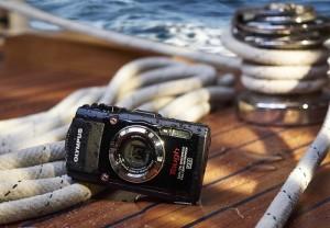 Robuste Kompaktkamera von Olympus: Stylus Tough TG-3