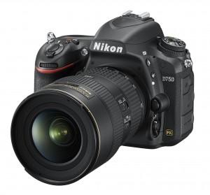 Digitale Spiegelreflexkamera mit Kleinbildsensor: Nikon D750