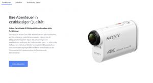 Los geht's: Sonys neue Action-Cam