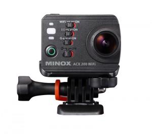 Artikelgebend ist die neue Action-Cam aus dem Hause Minox - die ACX 200 WiFi
